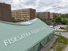 Invigning av Folkets hus i Fisksätra