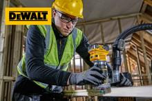 DEWALT lanserar batteridrivna handöverfräsar