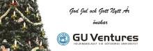 God Jul och Gott Nytt År önskar GU Ventures