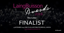 Finegreen shortlisted for Recruiter of the Year Laing Buisson Awards 2019!