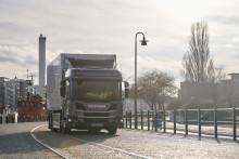 Coop betreibt batterieelektrischen Scania Lkw in Dänemark