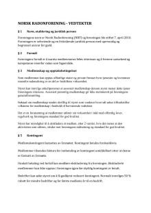 Vedtekter - Justerat forslag 2020