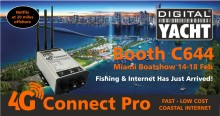 Digital Yacht With New Products At The Miami Boat Show Booth C644