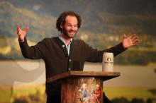 Die Salvator-Probe 2021 – Maximilian Schafroth hält die Fastenpredigt live auf dem Nockherberg – ohne Gäste