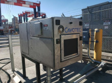 Cavotec e-truck charging wins major award