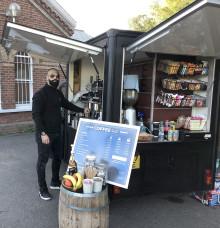New coffee van at Lingfield station