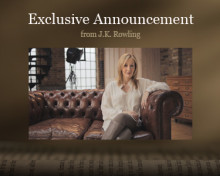 Sony Partners with J.K. Rowling for the launch of Pottermore.com