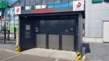 Døgnåben Click&Collect anlæg hos byggemarked
