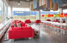 Inflyttning till IKEAs nya mötesplats, Hubhult