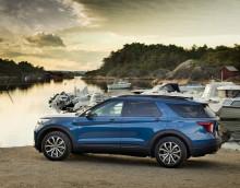 Lanserer nye Ford Explorer ladbar hybrid som varebil