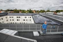 Solceller på plats och batterilagret igång i Sjöängen