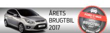 Ford C-MAX - suveræn vinder af Årets Brugtbil 2017