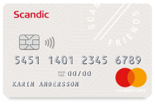 Scandic Hotels lanserar Scandic Friends Mastercard tillsammans med SEB Kort