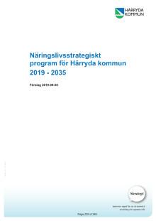 Näringslivsstrategiskt program för Härryda kommun