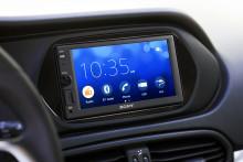 Sony lancerer nye mediemodtagere til bilen