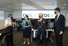 First elements of new Counter Terrorism Operations Centre in London unveiled