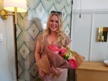 Christina Nilsson tar emot Sveriges största musikstipendium