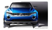 Volkswagen T-ROC: new SUV concept is set to rock Geneva Motor Show