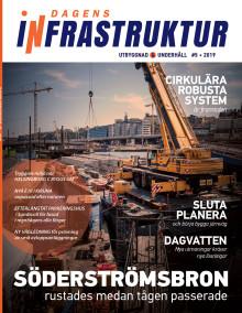 Nya numret av Dagens Infrastruktur nr 5 2019 ute nu!
