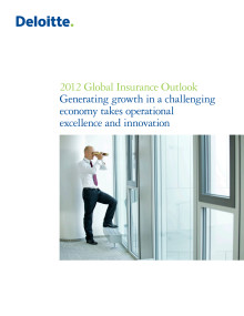 Global Insurance Outlook 2012