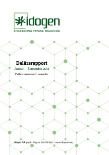 Delårsrapport Januari-September 2016