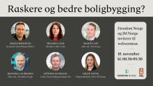 PRESSEINVITASJON: Eiendom Norge og JM inviterer til digitalt frokostmøte onsdag 18. november 2020