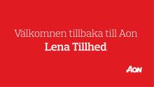 Lena Tillhed tillbaka till Aon!