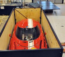 Miljöbilen Baldos II till utställning i USA