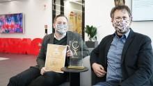 STRABAG gewinnt Corporate Health Award 2020 für das beste Betriebliche Gesundheitsmanagement in der Kategorie Produktion/Verarbeitende Industrie