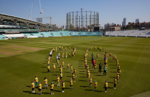 World-class cricketers come together with 100 Dynamos kids to celebrate 50 days to go until The Hundred