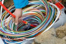 Glasfaser für Schuby und Lürschau: Das Netz wird gebaut