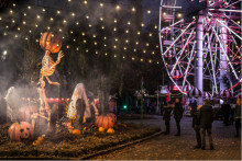 Halloween: Mørket sænker sig over Tivoli Friheden