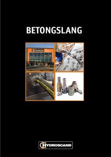 Betongslang - en ny broschyr från Hydroscand