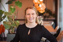 31 år ung blir Amanda Lindblad hotelldirektör på Radisson Blu Hotel i Lund