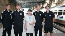 Teenagers score free travel with Govia Thameslink Railway