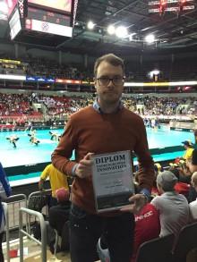 Emil Risberg tilldelas Thoren Innovation-stipendiet