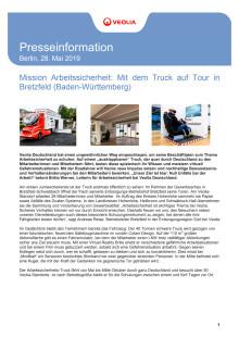 Arbeitssicherheits-Truck