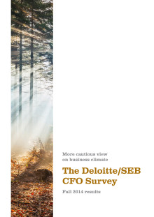 The Deloitte/SEB CFO Survey Fall 2014