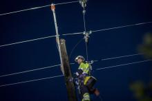 Økt strømberedskap som følge av varsel om uvær med kraftig vind