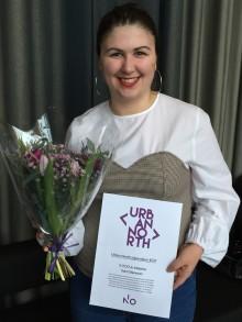 Sara Stenman tilldelas årets Urban North-stipendium