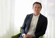 Alexander Ernstberger utsedd till Årets Unga Entreprenör Sverige 2015