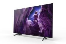 Sony'nin yeni A8 4K HDR OLED TV'leri satışa sunuldu