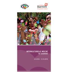 Flyer Interkulturelle Wochen im Barnim