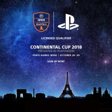 PlayStation presenterar Continental Cup på Paris Games Week