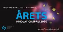 Dags att nominera till Årets Innovationspris 2020