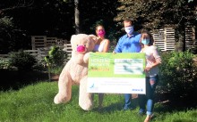 """""""Allianz Hauptvertretung Eric Schoener"""" hilft: Bärenherz bekommt 2.500 Euro aus dem Projekt """"Blauer Adler"""""""