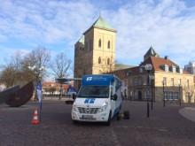 Beratungsmobil der Unabhängigen Patientenberatung kommt am 11. April nach Osnabrück.