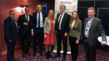 Enova støtter landstrøm til cruise i Bergen