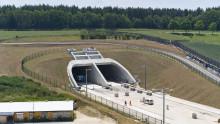 ZÜBLIN übergibt Tunnel Albabstieg feierlich an die Deutsche Bahn