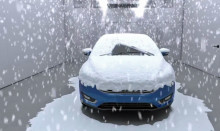 Fords «værfabrikk» garanterer hvit jul!